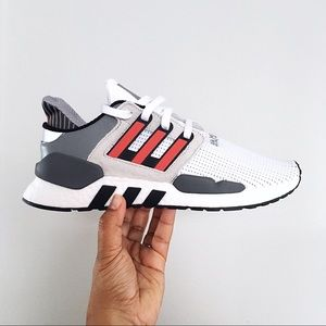 Men's Adidas EQT Support 91/18 White Shoes